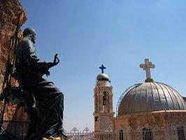Христианство наравне сопрерничает с исламом в Сирии