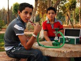 Кальян - всенародное увлечение в Сирии