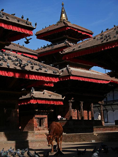 Площадь Дурбар, Катманду, Непал