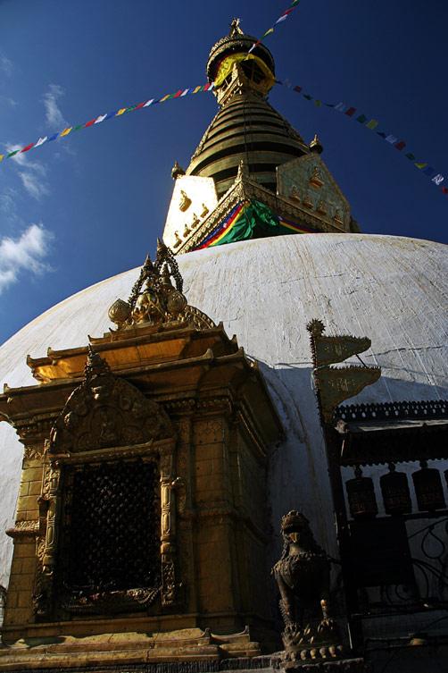 Храм Сваямбунат, Катманду, Непал