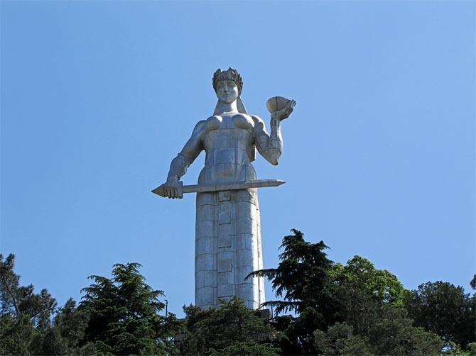 Мать-Грузия в Тбилиси