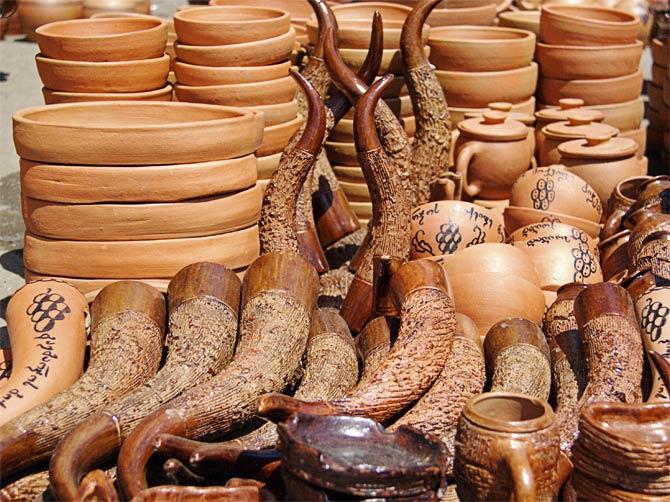 Глиняная посуда в Грузии