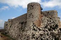 Замок Крак де Шевалье, Сирия